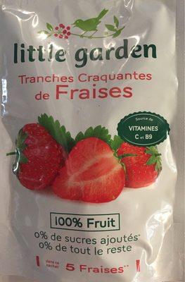 Tranches de fraises - Produit