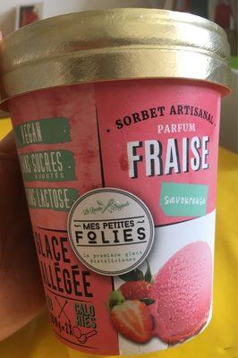 Sorbet vegetal fraise - Produit - fr