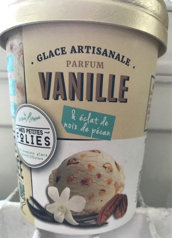 Glace vanille noix de pécan - Produit - fr