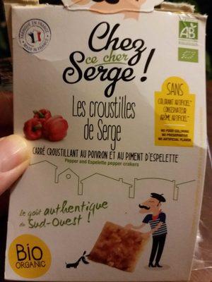 Carre Croustillant Poivron Piment Espelette - Product - fr