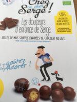 Billes De Mais Souffle Enrobees Choc Lait - Produit