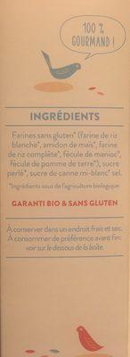 Preparation pour chouquettes - Ingrediënten