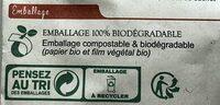 Crackers Raclette & Olives - Istruzioni per il riciclaggio e/o informazioni sull'imballaggio - fr