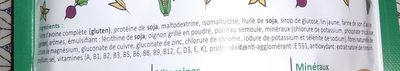Smeal saveur légumes du potager - Ingrédients - fr