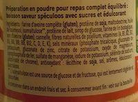 Le repas équilibré à boire - Ingrédients - fr