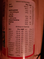 Smeal - Nutrition facts