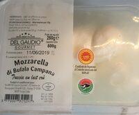 Mozzarella di Bufala Campana au lait cru - Product - fr