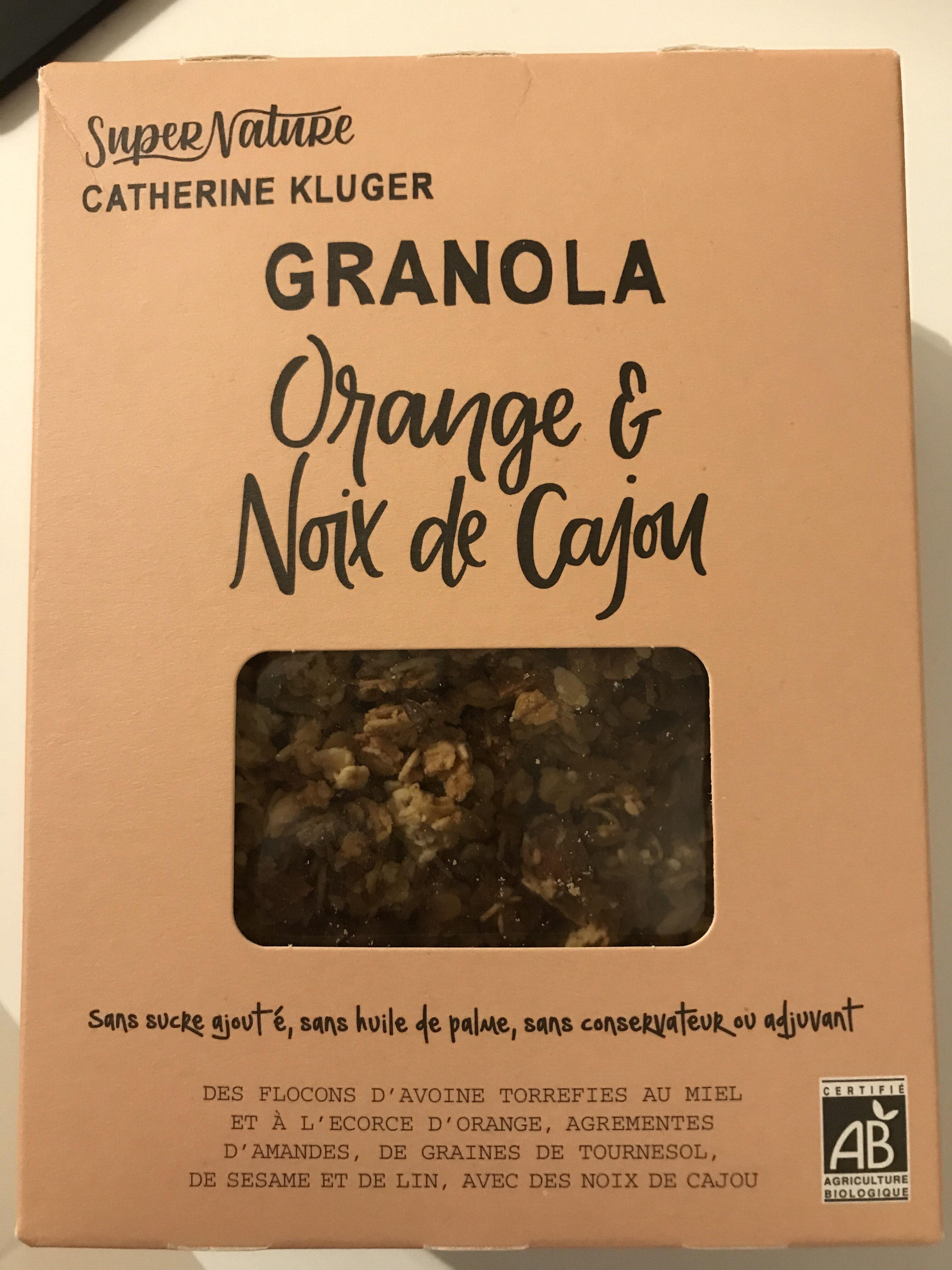 Granola à L'orange Et L'abricot - Product