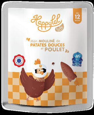 Mon mouliné de patates douces et poulet - Produit - fr