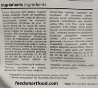Feed saveur chocolat 3kg - Ingredients - fr