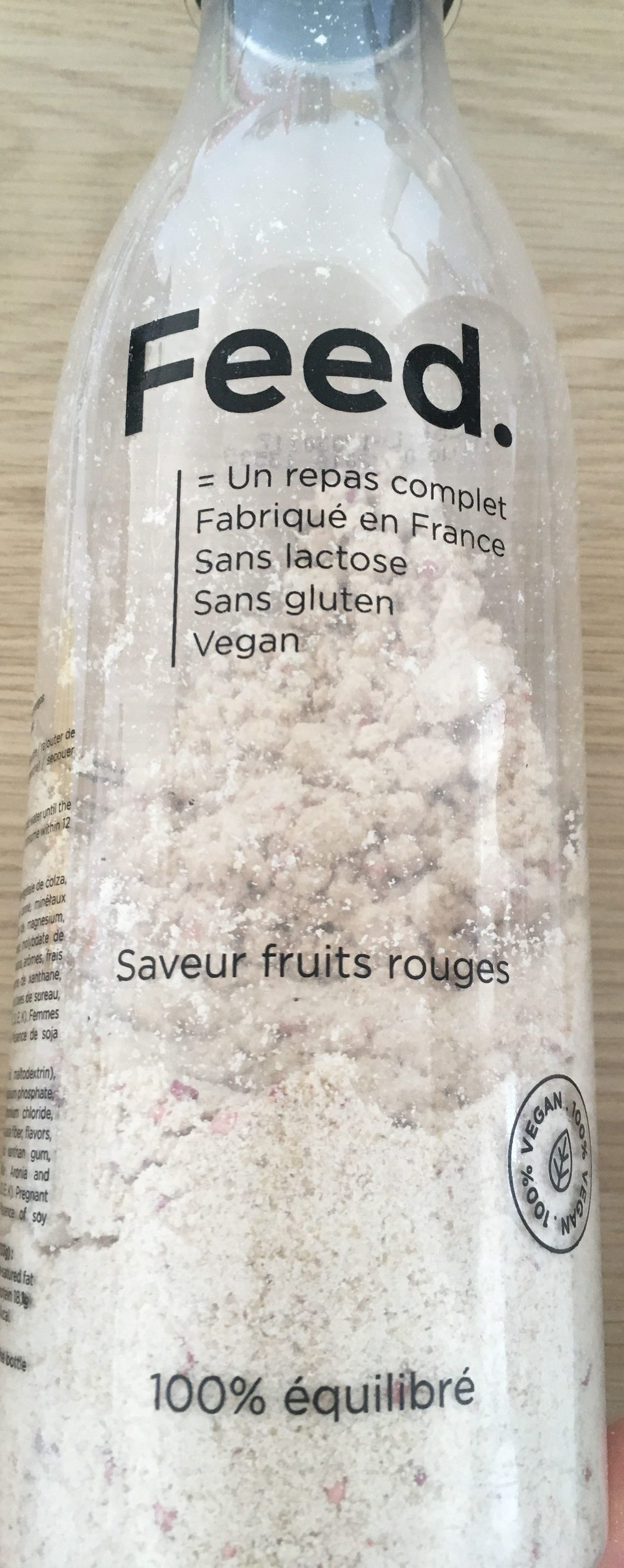 Feed Saveur fruits rouges - Produit