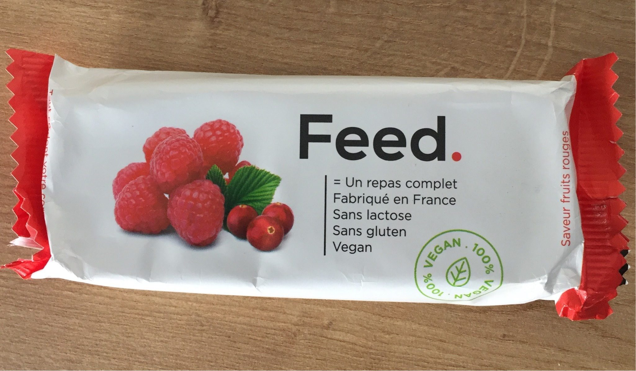 Barre repas fruit rouge - Product
