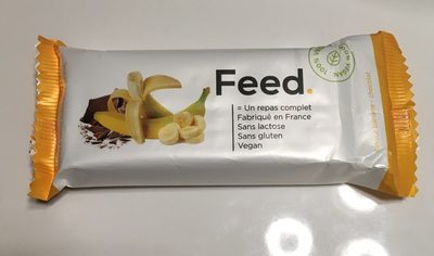 Feed barre banane chocolat - Product