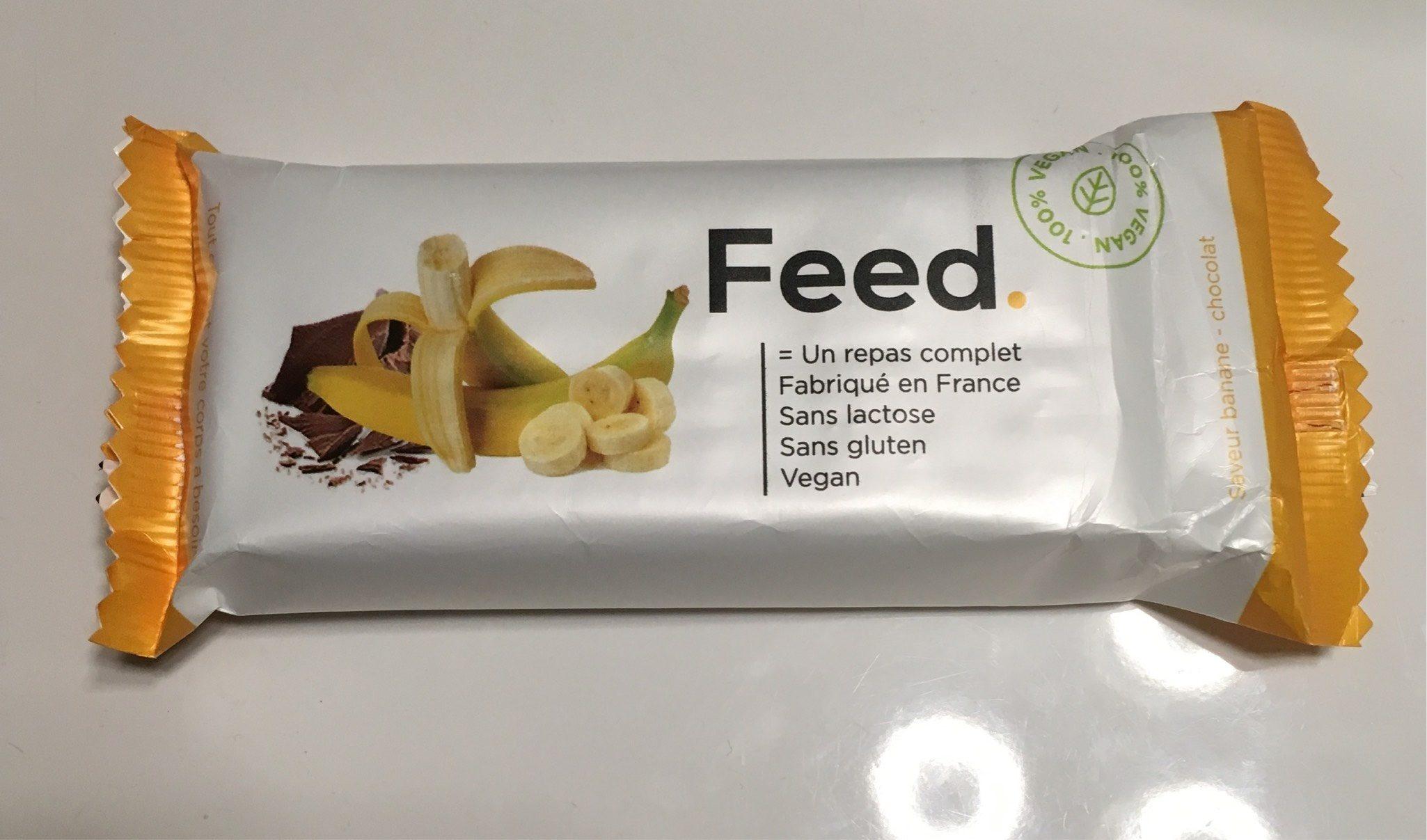 Feed barre banane chocolat - Produit