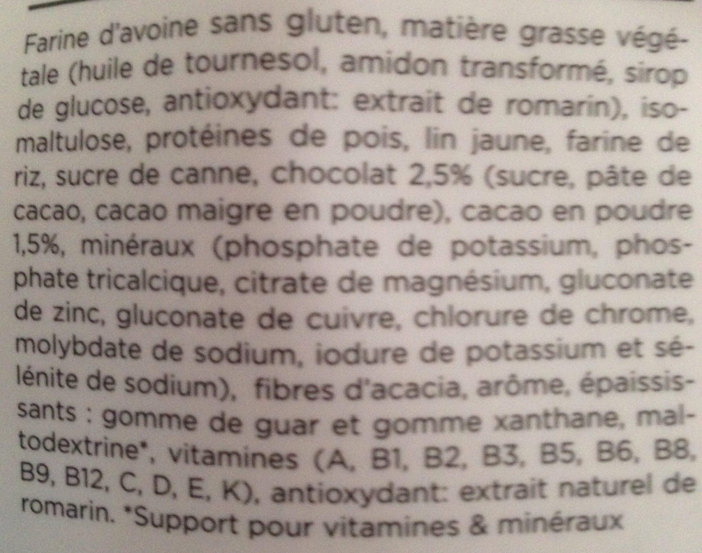 Feed saveur chocolat - Ingrédients - fr