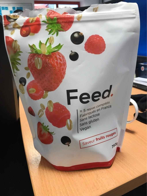 Saveur fruits rouge - Produit - fr