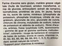 Saveur fruits rouge - Ingrédients - fr