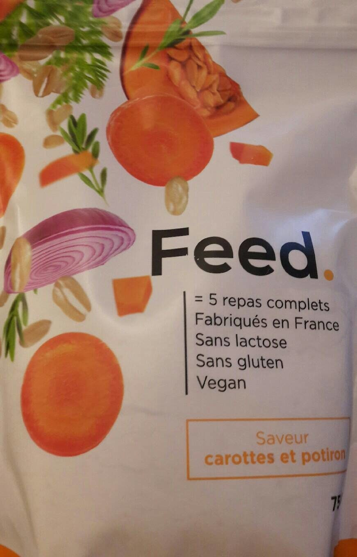 Feed carotte potiron - Produit - fr