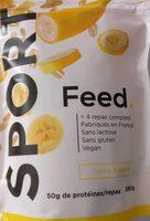 Feed Sport Banane - Produit