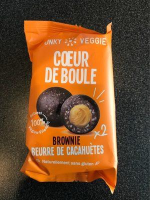 Coeur de boule brownie beurre de cacahuètes - Produit