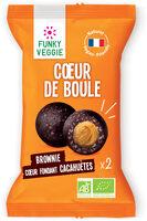 Cœur de Boule Brownie Beurre de Cacahuètes - Product - fr