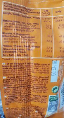 Cœur de boule - Informations nutritionnelles - fr