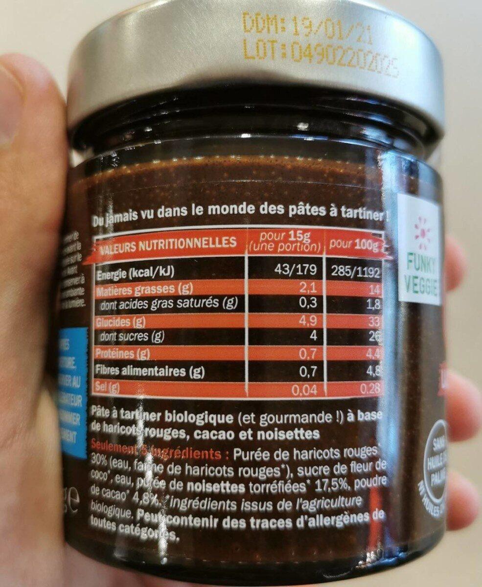 OUF! La pâte à tartiner Cacao Noisettes - Información nutricional - fr