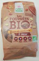 Les fourrées bio beurre de cacahuète & cacao - Produit - fr