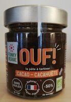 OUF! La pâte à tartiner cacao-cacahuète - Product - fr