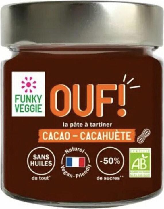 OUF! La pâte à tartiner Cacao Cacahuètes - Product - fr
