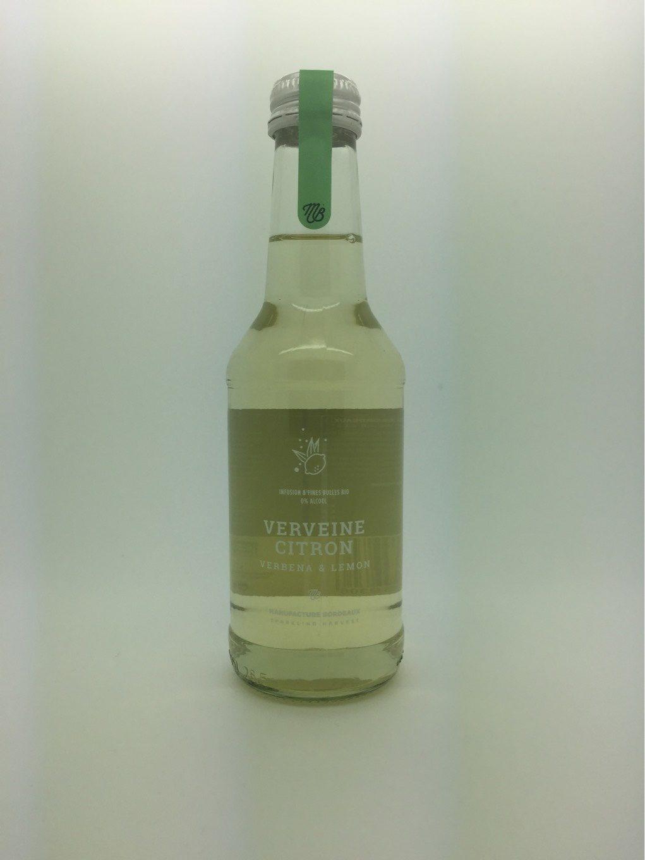 Infusion & Fines bulles Verveine Citron - Produit