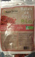 Baie de Goji bio - Informations nutritionnelles - fr