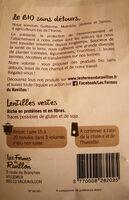 Lentilles vertes - Ingredients - fr