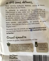 Grand épeautre - Ingredients - fr
