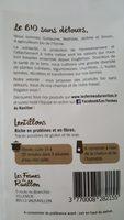 Lentillons - Ingrediënten - fr