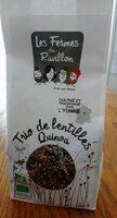 Trio de lentilles quinoa - Product - fr