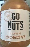 Beurre de cacahuètes - Product - fr