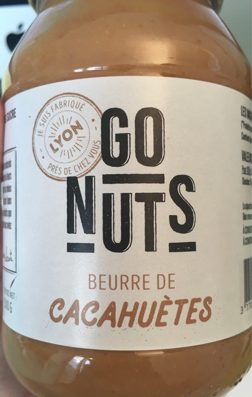 Beurre de cacahuètes - Produit