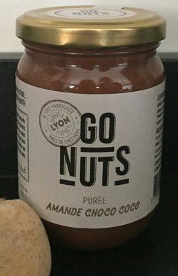 Pâtes à tartiner amande choco coco - Product