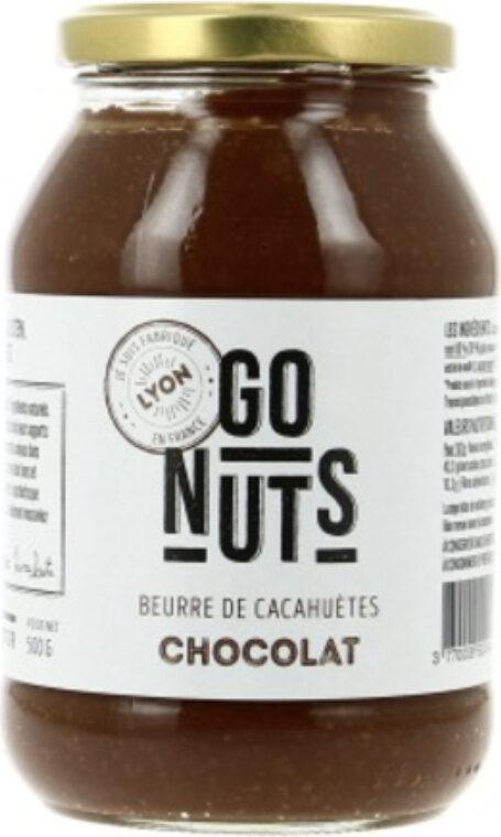 Beurre de cacahuète chocolat - Produit - fr
