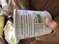 Glace bio au lait de brebis - Ingredients - fr
