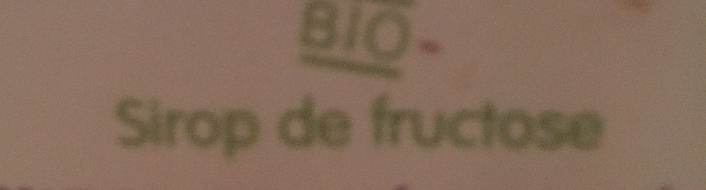 Sirop de fructose - Ingrediënten