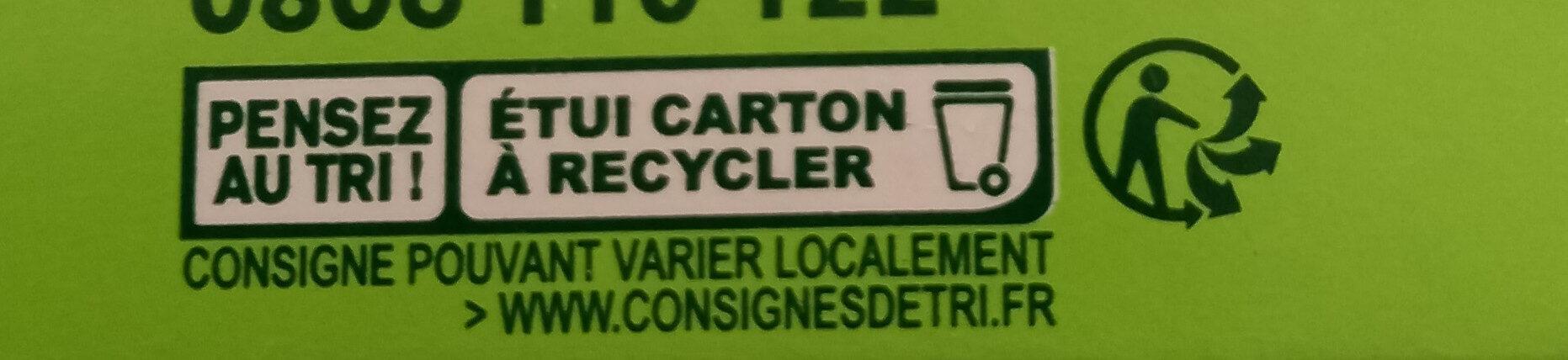 L'oeuf qui ne tue pas la poule - Istruzioni per il riciclaggio e/o informazioni sull'imballaggio - fr