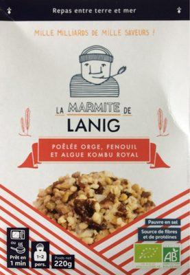 Poêlée Orge, fenouil et algue Kombu royal - Product - fr