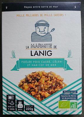 Poêlée Pois cassé, céleri et Haricot de mer - Product - fr