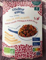Poêlée Haricot rouge, poivron et algue Dulse - Produit - fr