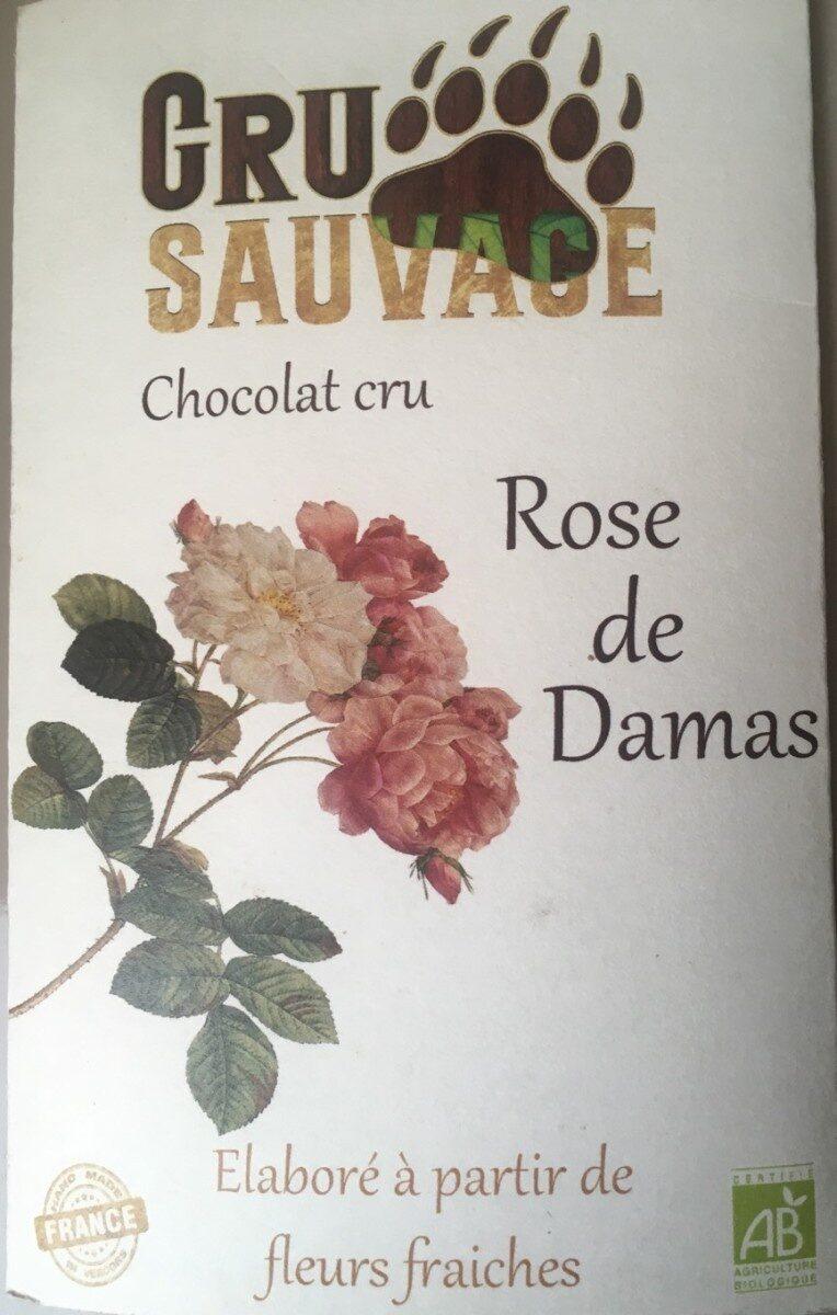 Chocolat cru Rose de Damas - Product - fr