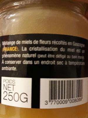 miel de fleurs cremeux - Ingredients