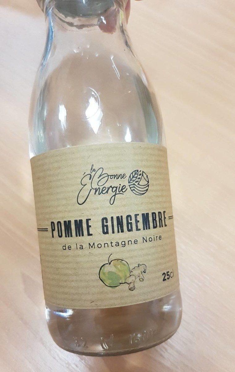 Jus de pomme gingembre - Prodotto - fr