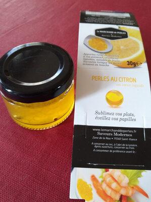 PERLES AU CITRON - Product